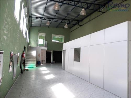 salão comercial para locação, jardim brasil, vinhedo. - sl0029