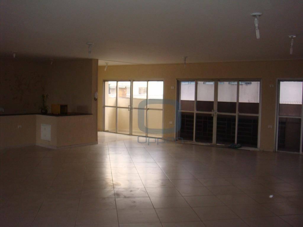 salão comercial para locação, jardim do trevo, campinas - sl0008. - sl0008