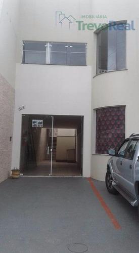 salão comercial para locação, jardim europa, valinhos - sl0067. - sl0067