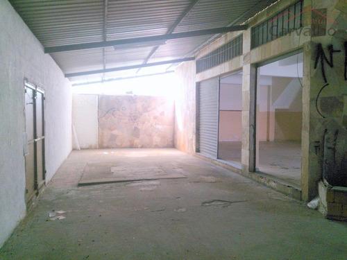 salão comercial para locação, jardim guanca, são paulo - sl0
