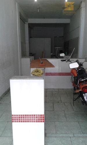 salão comercial para locação, jardim munhoz, guarulhos - sl0114. - sl0114