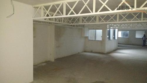salão comercial para locação, lapa de baixo, são paulo - sl0020. - sl0020