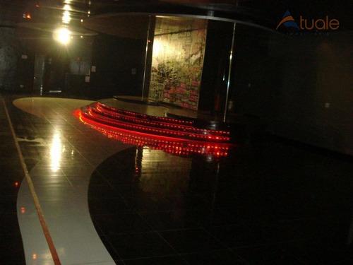 salão comercial para locação, nova americana, americana - sl0354. - sl0354