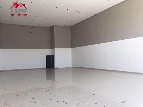 salão comercial para locação, nova campinas, campinas. - sl0007