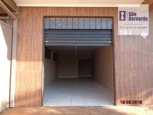 salão comercial para locação, parque novo mundo, americana. - sl0191