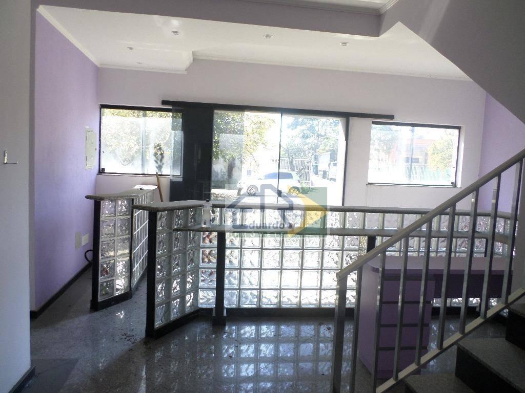 salão comercial para locação, parque suzano, suzano. - sl0028