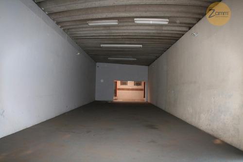 salão comercial para locação, ponte preta, campinas. - codigo: sl0016 - sl0016