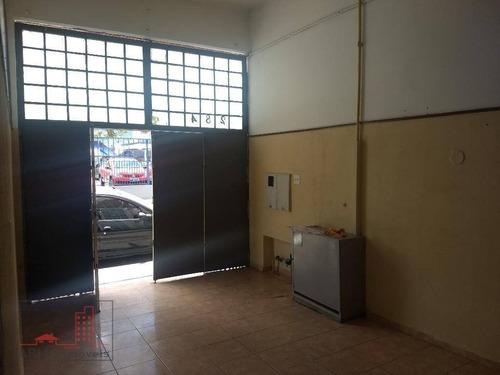 salão comercial para locação - sl0002