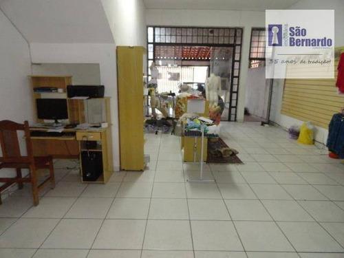 salão comercial para locação, são vito, americana. - sl0082