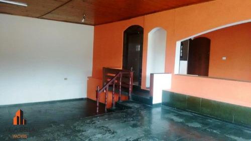 salão comercial para locação, vila carlina, mauá. - sl0248
