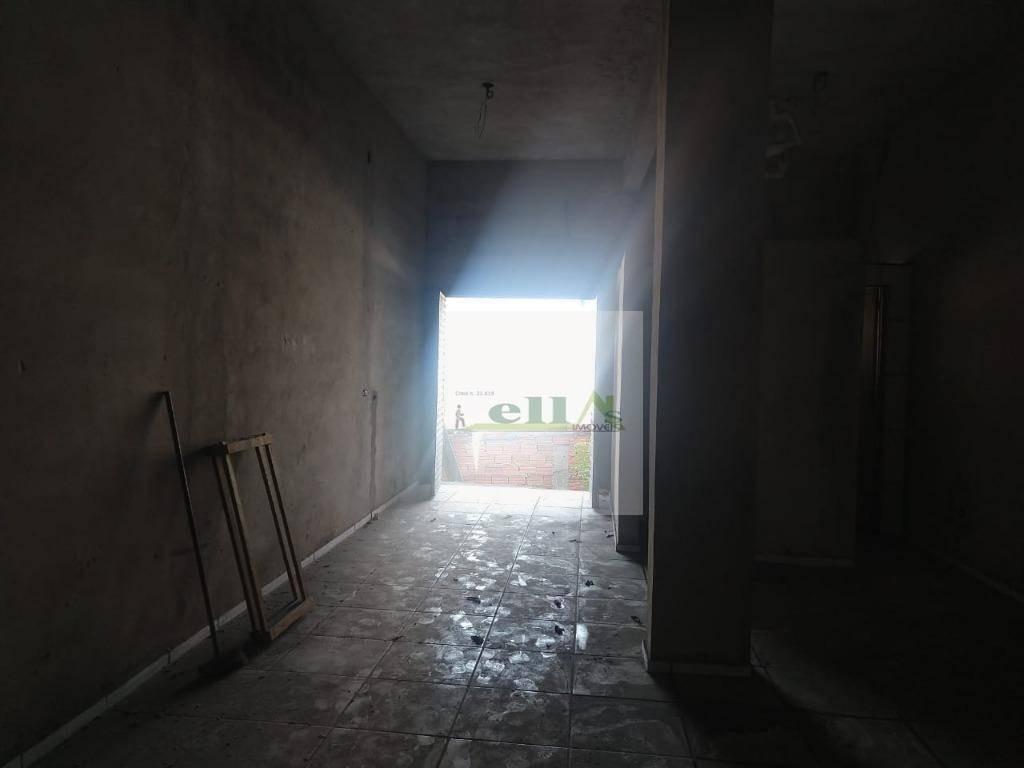 salão comercial para locação, vila da oportunidade, carapicuíba. - sl0011