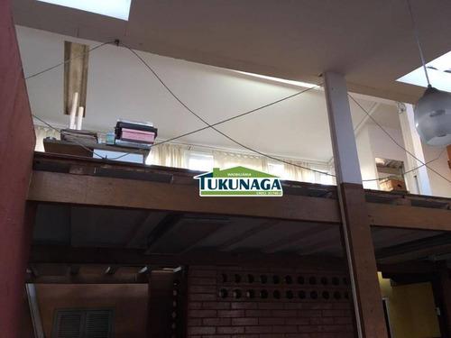 salão comercial para locação, vila galvão, guarulhos. - sl0021
