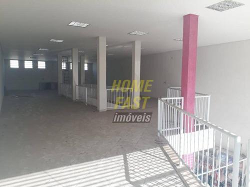 salão comercial para locação, vila galvão, guarulhos. - sl0126