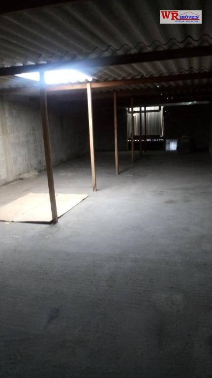 salão comercial para locação, vila olga, são bernardo do campo. - sl0059