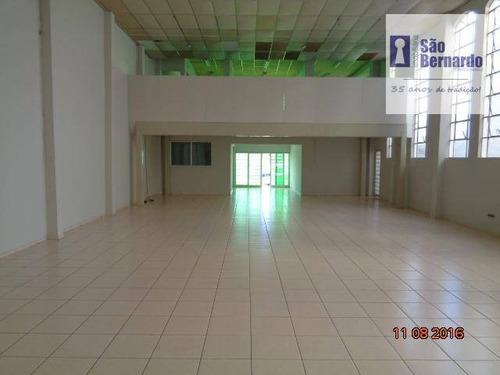 salão comercial para locação, vila pavan, americana. - sl0207