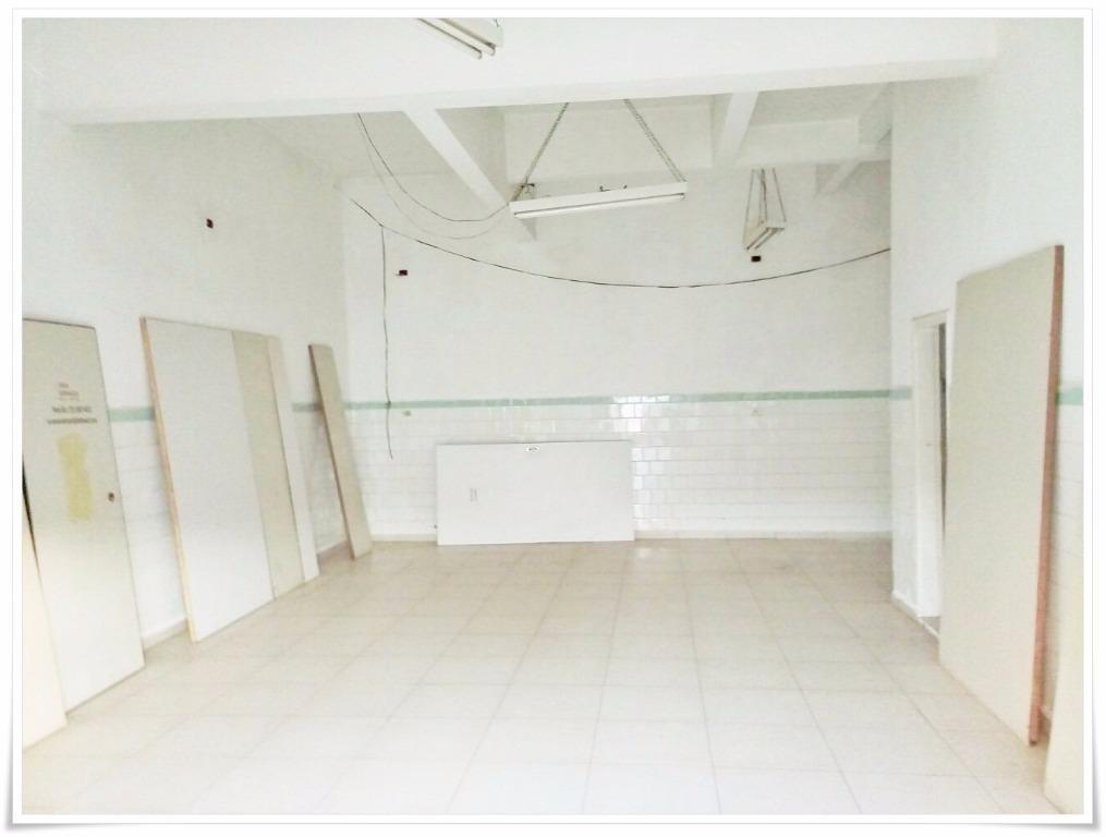 salão  comercial para locação, vila santa catarina, americana. - codigo: sl0041 - sl0041