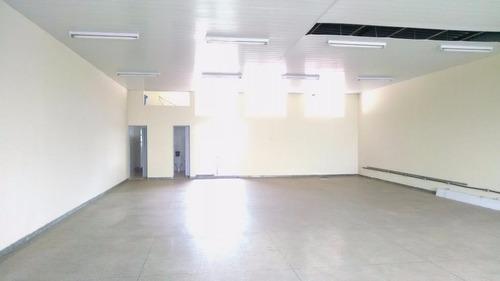 salão comercial para locação, vila santa catarina, americana. - codigo: sl0056 - sl0056