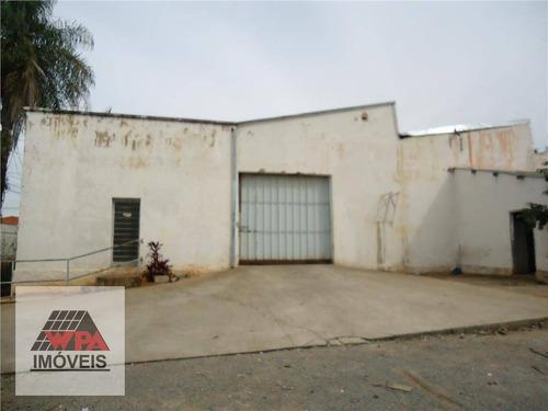 salão comercial para locação, vila santa catarina, americana. - sl0122