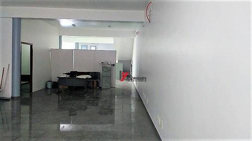 salão comercial para locação, vila thais, atibaia. - sl0011