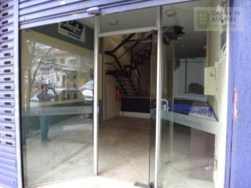 salão comercial para venda e locação, cerqueira césar, são paulo - sl0046. - sl0046