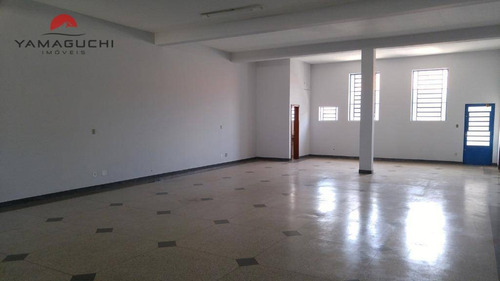 salão comercial para venda e locação com 309m², jardim de itapoan, paulínia. - codigo: sl0001 - sl0001