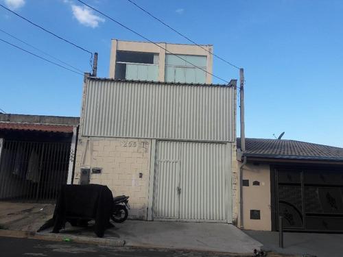 salão comercial para venda e locação, jardim mirandola, americana. - codigo: sl0066 - sl0066