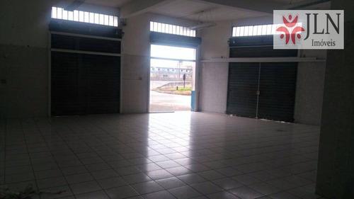 salão comercial para venda e locação, nossa senhora do sion, itanhaém. - sl0003