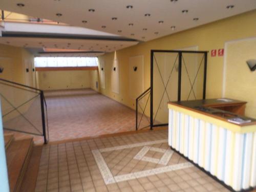 salão comercial para venda e locação, vila bastos, santo andré - sl0076. - sl0076