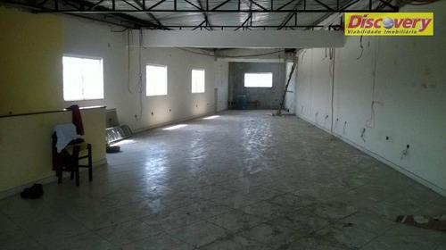 salão comercial, próximo ao comercial esperança cocaia - sl0035