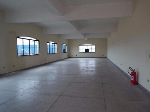 salão comercial sobreloja 1º andar com estacionamento