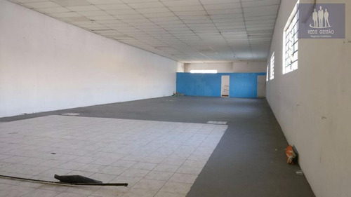 salão comercial, sobreloja, grande em local tranquilo!! - sl0014