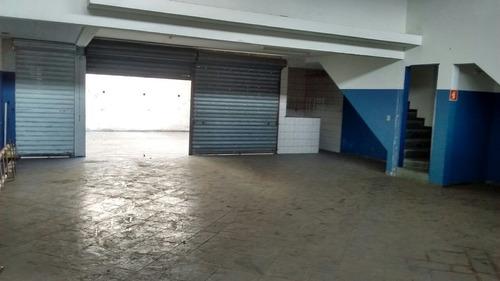 salão comercial trezentos m  - pé direito 4 metros    fl26