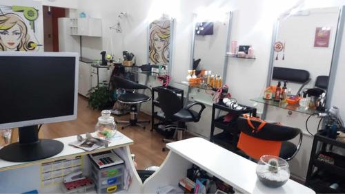 salão de cabeleireiro (passo ponto)