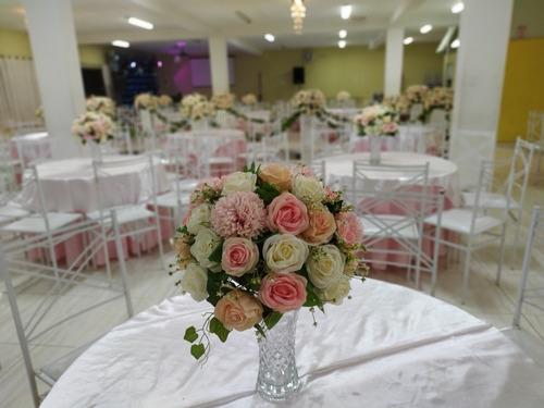 salão de festas + buffet e decoração casamentos zona leste