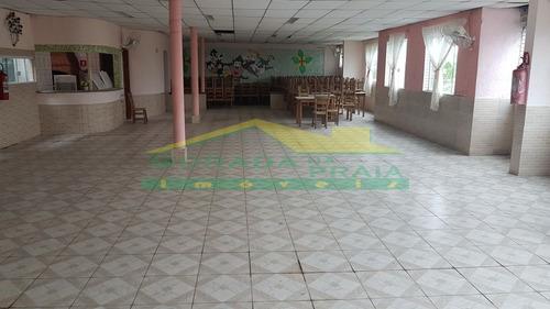 salão de festas em avenida, prontinho, 100 m², confira na imobiliária em praia grande. - mp12608