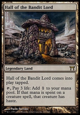 salão do senhor bandido / hall of the bandit lord