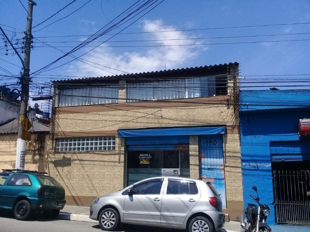 salão em vila carmosina, são paulo/sp de 120m² à venda por r$ 430.000,00 - sl402726