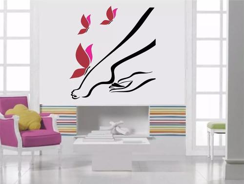 salão estética salão depilação pernas borboletas pedicure