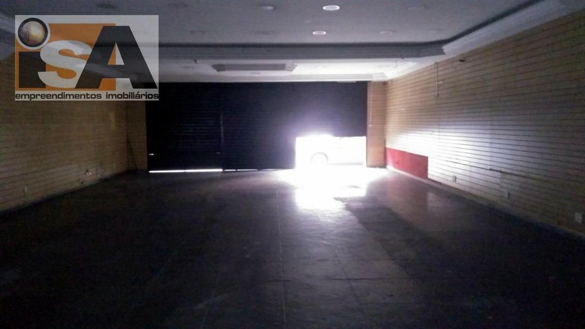 salão / galpão em centro  -  suzano - 3048