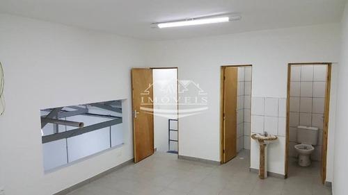 salão galpão para locação no bairro vila antonieta, 300 m - 348