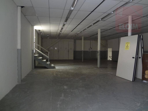 salão industrial para locação, casa verde baixa, são paulo. - sl0029