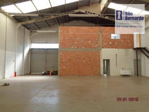 salão industrial para locação, cidade industrial, santa bárbara d'oeste. - sl0172