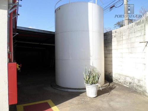 salão industrial para locação, jardim luciane, americana. - sl0048