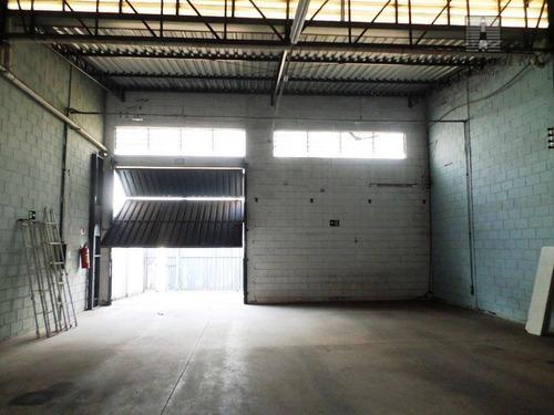 salão industrial para locação, jardim luciane, americana. - sl0054