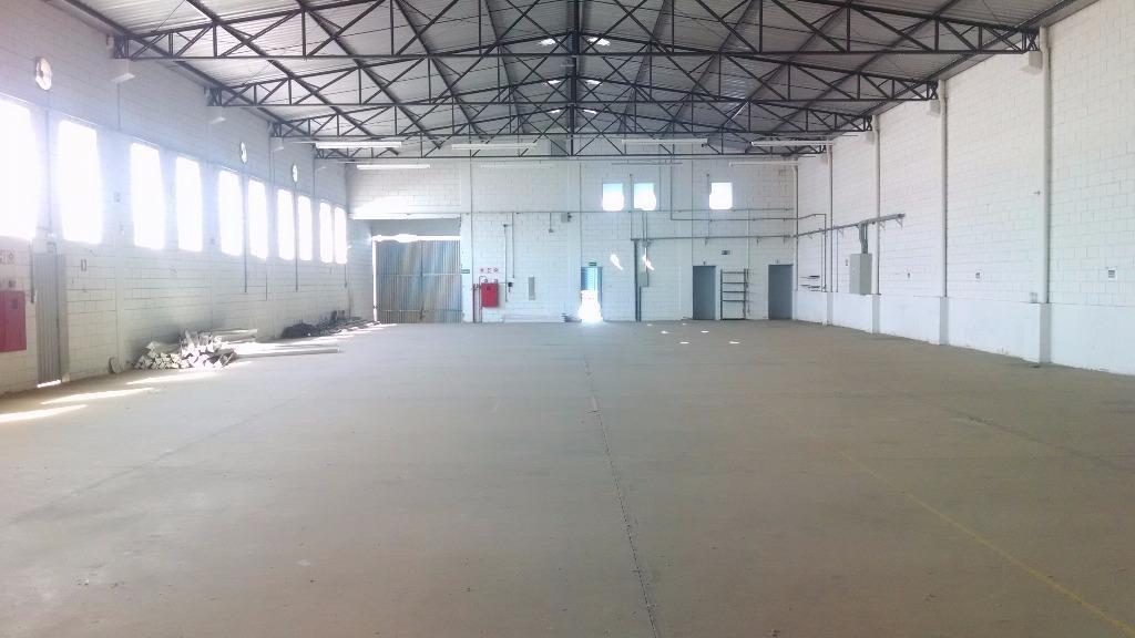 salão industrial para locação, loteamento industrial salto grande i, americana. - codigo: sl0060 - sl0060