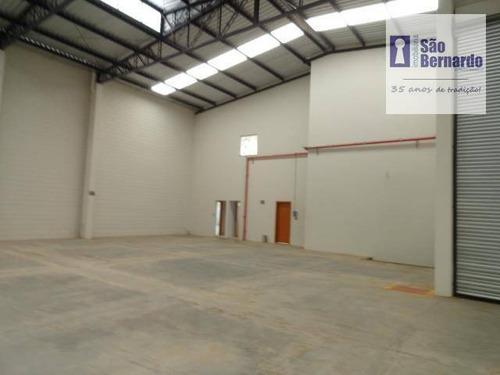 salão industrial para locação, loteamento industrial salto grande i, americana - sl0103. - sl0103