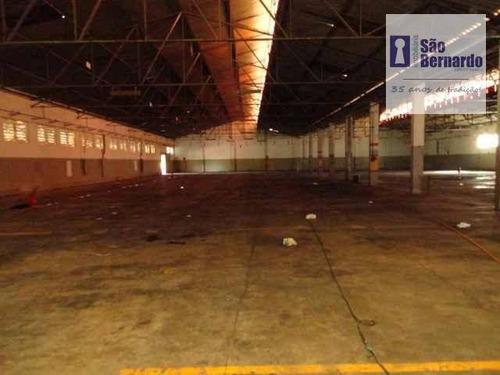 salão industrial para locação, são luiz, americana - sl0095. - sl0095