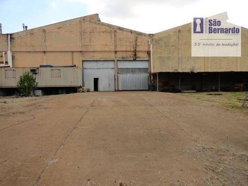 salão industrial para locação, vila dainese, americana - sl0118. - sl0118
