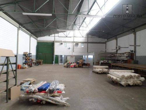 salão industrial para locação, vila israel, americana. - sl0064