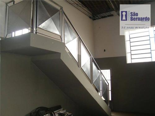 salão industrial à venda, jardim adélia, santa bárbara d'oeste - sl0099. - sl0099